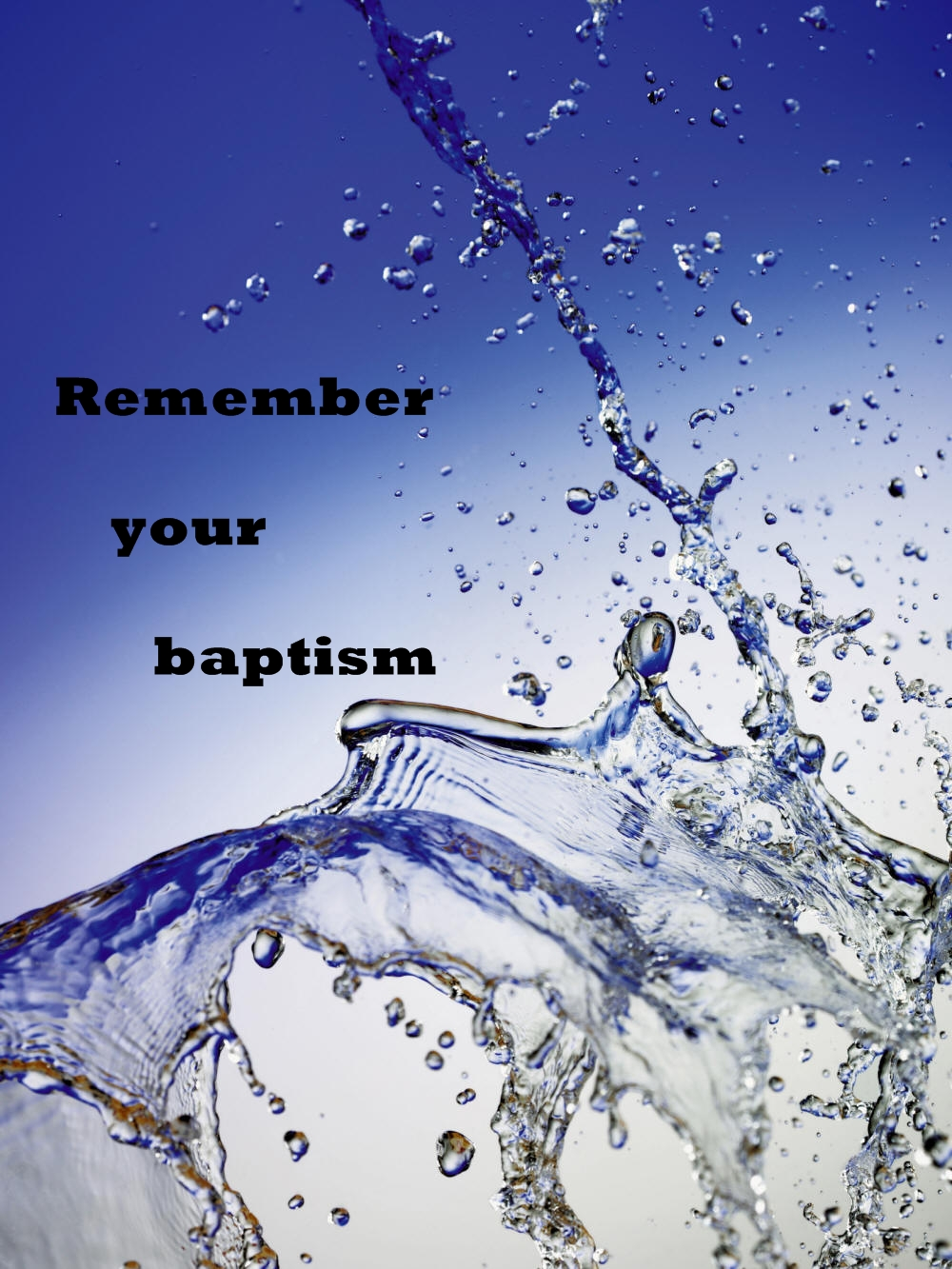 we become disciples of the lord jesus at baptism