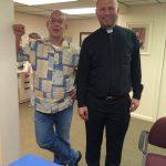 Thank You Fr. Steve ! Welcome Fr. Aleksandser !